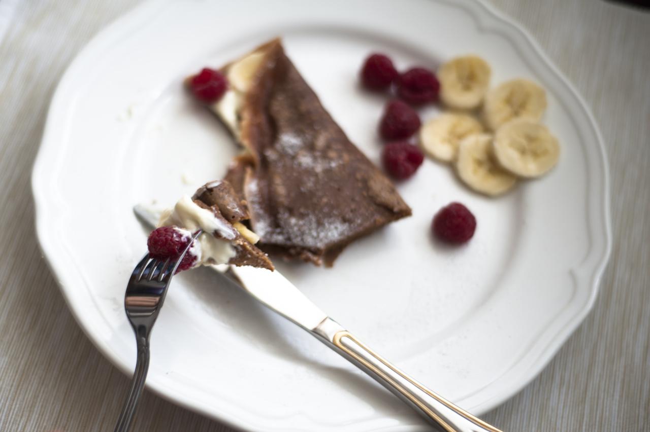 przepis na czekoladowe naleśniki