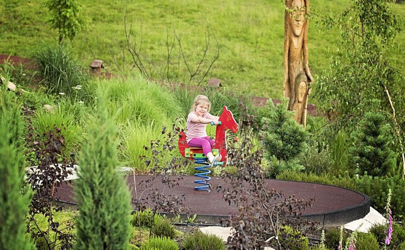 Ogród bajek przy Chacie Grabowa