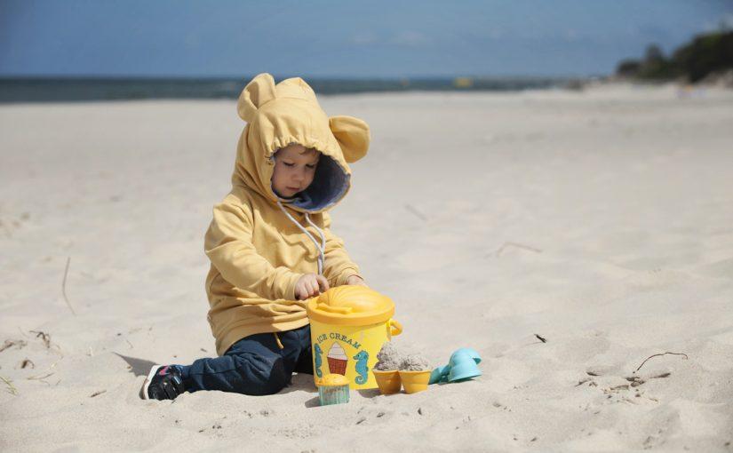 Zabawki do piasku, dzięki którym ja wypoczywałam :)