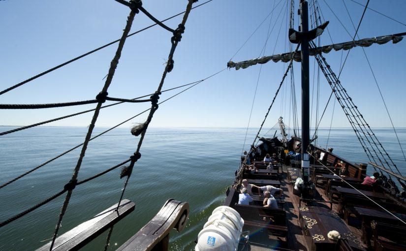 Rejs statkiem Król Eryk I w Darłowie